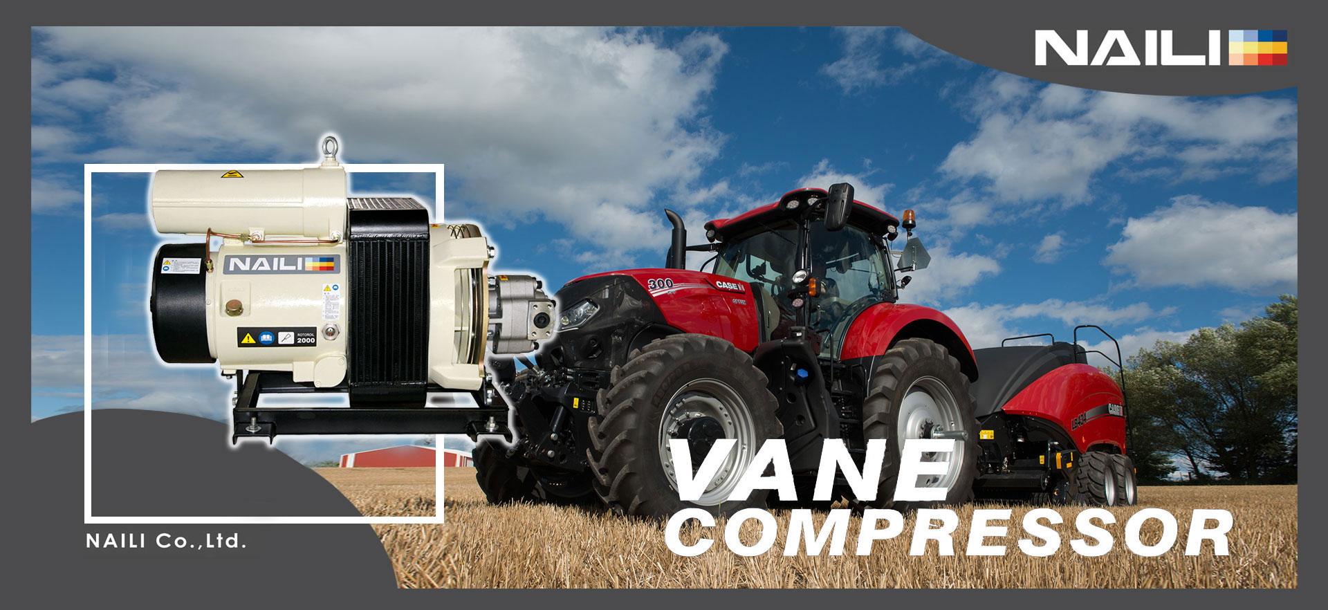 Hydraulic Vane Compressor
