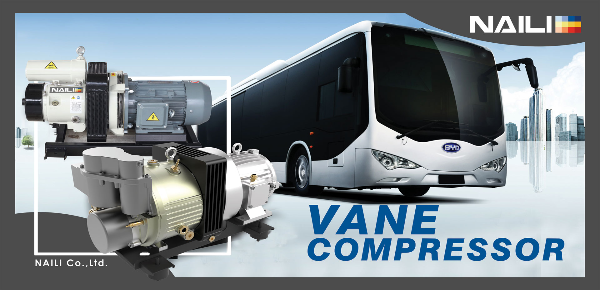 Vehicles Fixed Vane Compressor