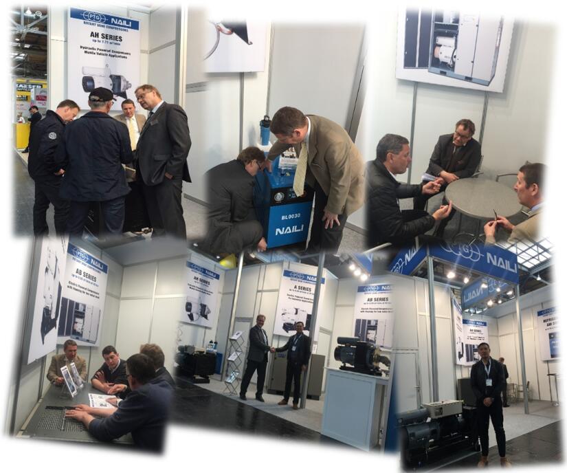 NAILI Co.,Ltd and PTG GmbH For Rotary Vane Compressor