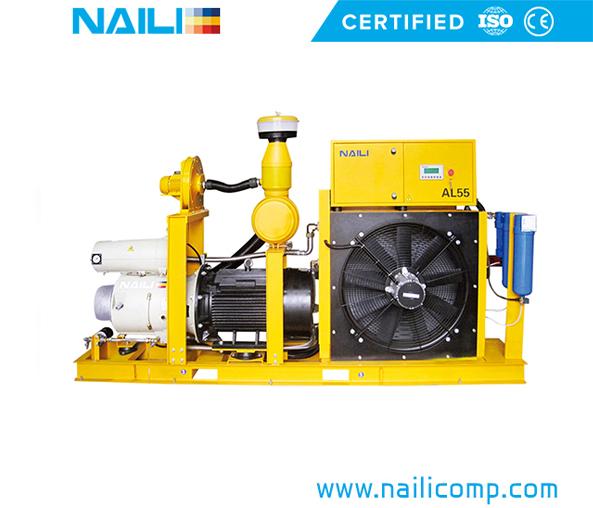 NAILI AL series for Crane & Concrete Shooting Vane Compressor
