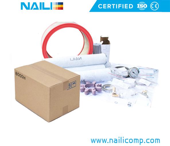NAILI Rotary Vane compressor 8000H service Kits
