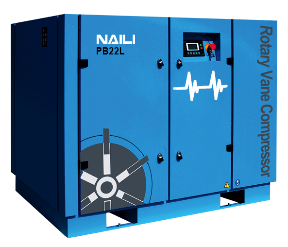 NAILI PB series Energy saving type rotary vane compressor