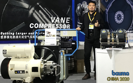 NAILI Hydraulic Air Compressor in BAUMA CHINA 2020
